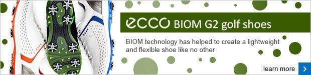ECCO BIOM G2 golf shoes
