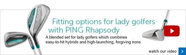 PING Rhapsody ladies range