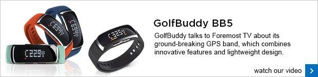 GolfBuddy BB5 GPS wristband