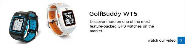 GolfBuddy WT5 GPS watch