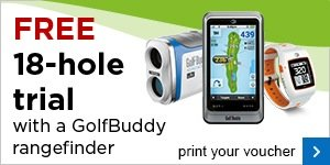 GolfBuddy GPS/Range finder 18 hole demo