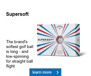 Callaway Supersoft golf ball