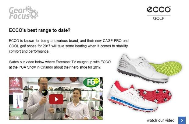ECCO's 2017 shoe range